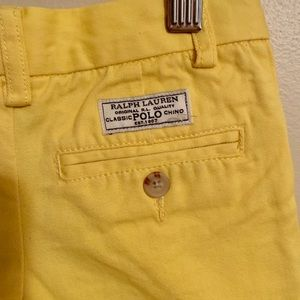 Polo by Ralph Lauren Bottoms - 🥳3 For $20🥳POLO... Girl's 2T(EUC)Yellow Shorts!